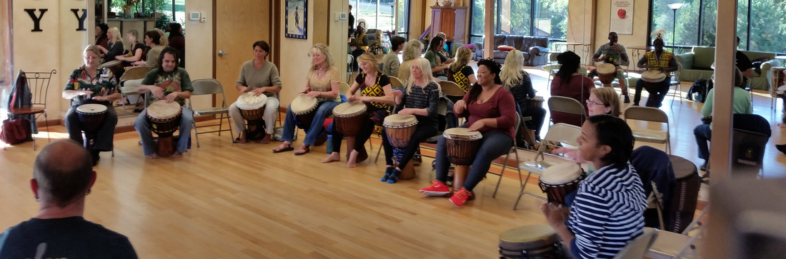 African drum retreat Colorado Springs and Manitou