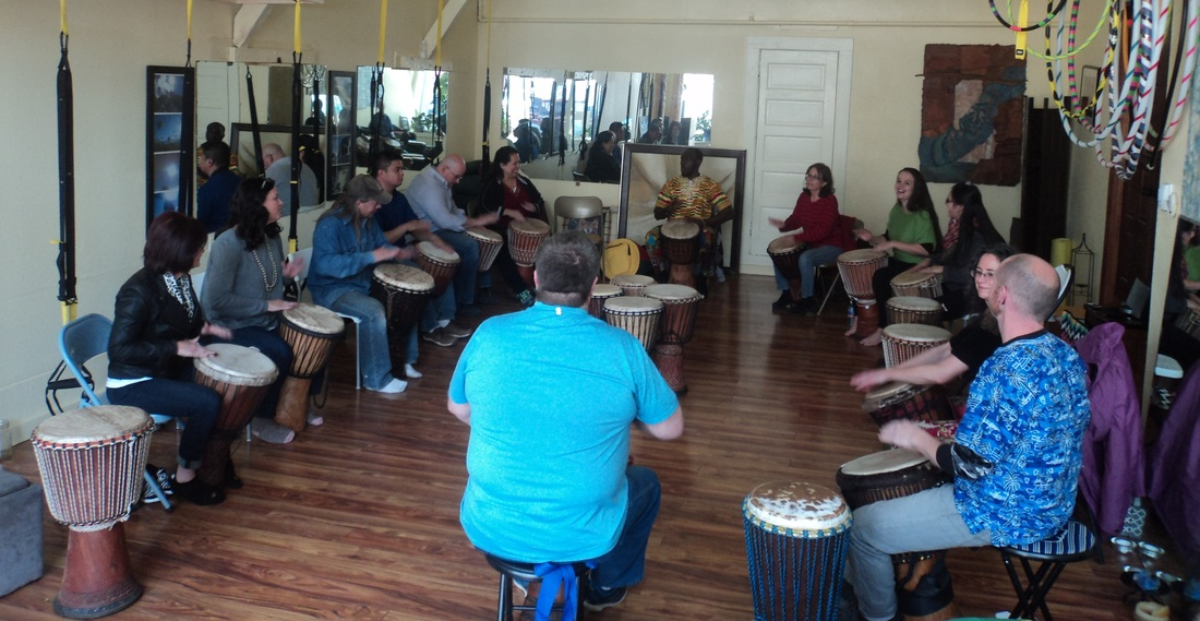 African drumming retreat Colorado and Manitou Springs